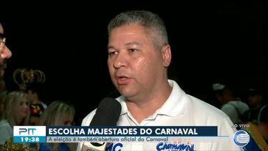 Escolha das Majestades do Carnaval acontece hoje (7) em Teresina - Escolha das Majestades do Carnaval acontece hoje (7) em Teresina