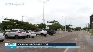 Em um ano, mais de 800 veículos são recuperados no Tocantins - Em um ano, mais de 800 veículos são recuperados no Tocantins