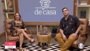 Programa de 08/02/2020 - Ana Furtado, Cissa Guimarães, Patrícia Poeta e Zeca Camargo comandam programa de variedades das manhãs de sábado, ao vivo. A música fica por conta do Tchakabum.