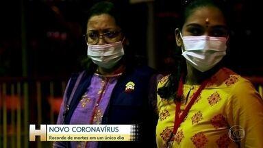Americana de 60 anos é o primeiro estrangeiro morto pelo novo coronavírus, na China - Até agora, foram pelo menos 330 casos de novo coronavírus fora da China continental, com duas mortes: em Hong Kong e nas Filipinas.
