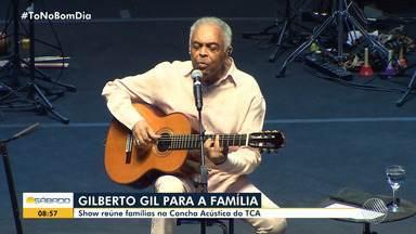 Gilberto Gil lota a Concha Acústica do TCA na apresentação da turnê 'Ok Ok Ok' - Show aconteceu na noite de sexta-feira (7).