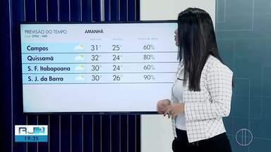 Confira a previsão do tempo para este sábado, 08 de fevereiro de 2020 - Fabiana Lima traz as temperaturas das cidades do interior do Rio.