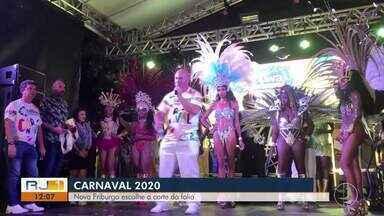Côrte do carnaval de Nova Friburgo, que vai comandar a festa na cidade já está decidida - Eleição aconteceu nesta sexta-feira (7).