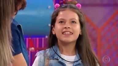 Conheça Letícia Prudêncio - Ela tem 11 anos e é de Araranguá (SC)