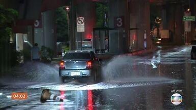 São Paulo enfrenta fortes chuvas nesta segunda-feira (10)