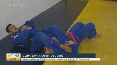 Dois lutadores do Amapá se preparam para a Copa Bahia de Judô - Alexandre Barros e Fábio Machado competem a partir de 15 de fevereiro.