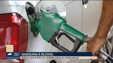 Escolha por determinado combustível gera dúvidas em consumidores de Uberlândia - Reportagem do MG1 conversou com eles e também com um especialista em veículos para esclarecer mitos e verdades na hora de optar por determinado produto.