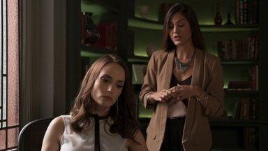 Lara se revolta ao saber sobre possível acordo de Rita e Lígia - Leila conta tudo o que descobriu para a advogada