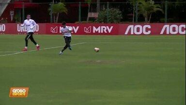 São Paulo treina finalizações para tentar melhorar média de gols - São Paulo treina finalizações para tentar melhorar média de gols
