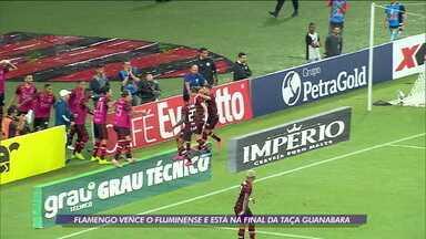 Flamengo vence o Fluminense e está na final da Taça Guanabara - Flamengo vence o Fluminense e está na final da Taça Guanabara