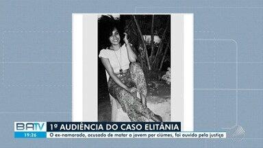 Justiça ouve depoimento de homem acusado de feminicídio em Cachoeira - A primeira audiência de instrução aconteceu nesta quinta-feira (13) na cidade onde o crime aconteceu.
