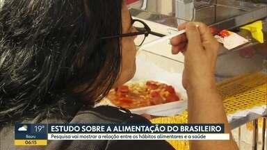 USP vai fazer estudo inédito sobre a alimentação do brasileiro - Pesquiva vai mostrar relação entre hábitos alimentares e saúde