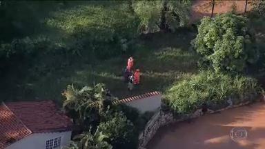 Corpo do menino Eduardo, de 2 anos, é encontrado em Juatuba (MG) - Menino estava desaparecido desde quarta-feira (12). O corpo foi encontrado numa lagoa da região por um morador que chamou os bombeiros.