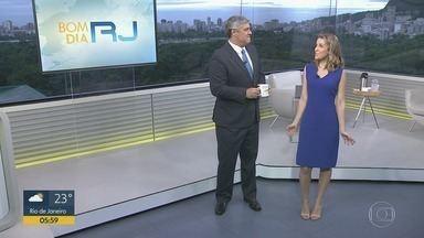 Bom dia Rio - Edição de sexta-feira, 14/02/2020 - As primeiras notícias do Rio de Janeiro, apresentadas por Flávio Fachel, com prestação de serviço, boletins de trânsito e previsão do tempo.