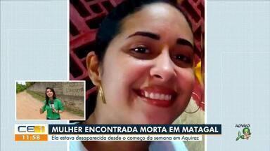 Jovem de 19 anos que estava desaparecida é encontra morta - Saiba mais no g1.com.br/ce