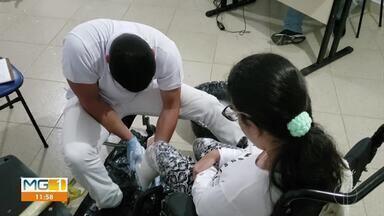 Centro de Reabilitação da Apae de Unaí, ajudam pessoas que precisam de doações de próteses - São cerca de 200 pessoas atendidas por meio de tratamentos e da doação de órteses e próteses.