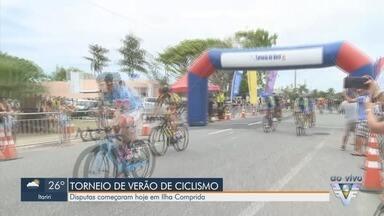 Torneio de Verão de Ciclismo começa em Ilha Comprida - Disputas começaram nesta sexta-feira (14) na cidade do Vale do Ribeira.