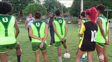 Tiradentes se prepara para Série A2 e tentar voltar a elite do futebol feminino - Tiradentes se prepara para Série A2 e tentar voltar a elite do futebol feminino