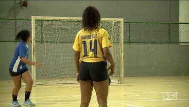 Taça Batom de Handebol é destaque em São Luís - Duelo entre as meninas do BHG e AESF é o destaque na fase semifinal.