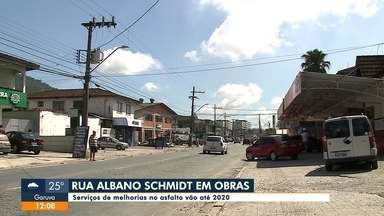 Comentário Jefferson Saavedra: Melhorias na Rua Albano Schimidt - Comentário Jefferson Saavedra: Melhorias na Rua Albano Schimidt