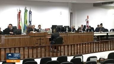 Condenados os sete acusados de participar de explosão do muro da Penitenciária - Condenados os sete acusados de participar de explosão do muro da Penitenciária de Joinville