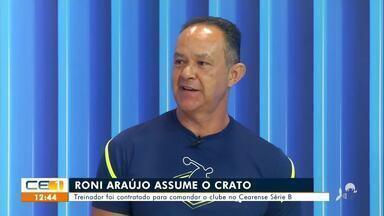 Torcida repercute chegada de Roni Araújo no Crato - Saiba mais no g1.com.br/ce