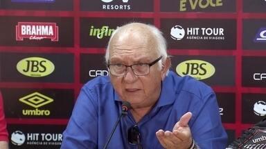 Presidente do Sport diz que time terá jogadores poupados contra Náutico - Presidente do Sport diz que time terá jogadores poupados contra Náutico