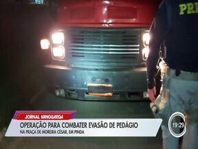 Operação combate evasão na praça de pedágio de Moreira César - Confira a reportagem.