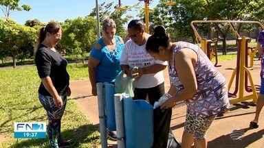 Faxina contra a dengue é realizada em Presidente Prudente - Cidade já possui 200 casos da doença neste ano.