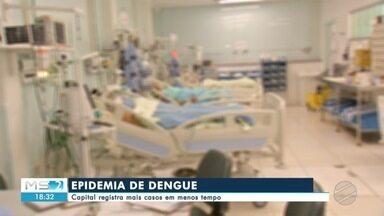 Capital registra mais casos de dengue - Campo Grande decretou epidemia de dengue. São mais de 1600 notificações da doença que já matou três pessoas na cidade