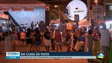 Carnaval do 'Carro Quebrado' começa nesta sexta-feira em Aracaju - A repórter Denise Gomes tem mais informações.