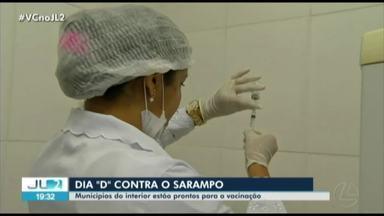 Dia 'D' da campanha contra sarampo é neste sábado - No interior do Pará, quatro grandes municípios reservaram quase 7 mil doses de vacina.
