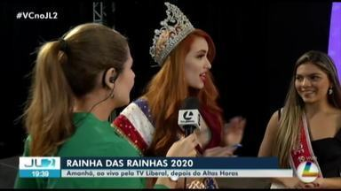 Candidatas do Rainha da Rainhas participam de ensaio geral no Hangar - A final do concurso é neste sábado, 15, em Belém.