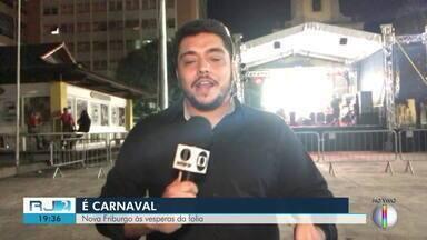 Grito de Carnaval começa nesta sexta em Nova Friburgo, RJ - O repórter Barney Campos traz mais informações.