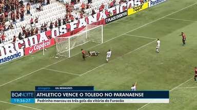 Athletico vence o Toledo pelo Campeonato Paranaense - Rio Branco e FC Cascavel ficam no empate.