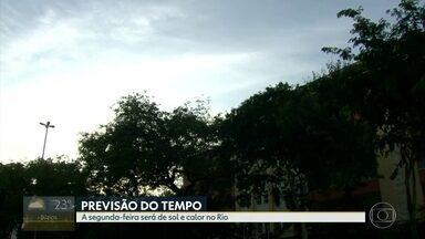 Confira a previsão do tempo para esta segunda-feira (17) - Dia de sol, com pancadas de chuva no final do dia. Previsão de 36°C.