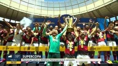 Fla vence Athlético por 3 a 0 - No próximo sábado, é a vez do rubronegro enfrentar o Boavista.