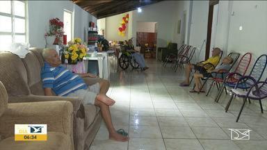 Lar que cuida de idosos recebe doações em Balsas - Além das novas acomodações, a entidade que é ligada a Igreja Católica recebeu a doação de cadeiras de rodas.