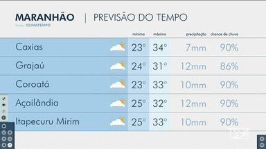 Veja as variações das temperaturas no Maranhão - Confira a previsão do tempo nesta terça-feira (18) em São Luís e também no interior do estado.