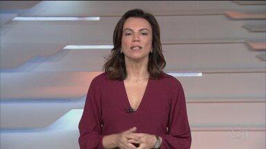 Bom dia Brasil - Edição de terça-feira, 18/02/2020 - O telejornal, com apresentação de Chico Pinheiro e Ana Paula Araújo, exibe as primeiras notícias do dia no Brasil e no mundo e repercute os fatos mais relevantes.