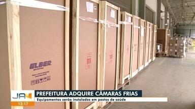 Câmaras frias vão ser instaladas nos postos de saúde de Blumenau - Câmaras frias vão ser instaladas nos postos de saúde de Blumenau