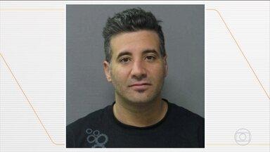 PF prende americano suspeito de matar esposa e ocultar corpo nos EUA em 2013 - Mandado de prisão contra o homem, que é norte-americano, foi expedido pelo Supremo Tribunal Federal. Ele foi levado ao presídio de Pouso Alegre, no Sul de Minas Gerais, e agora aguarda pelo processo de extradição.
