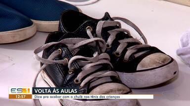 Dicas da Lucy: veja como acabar com chulé nos tênis das crianças - undefined