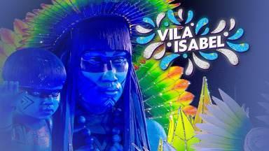 """Vila Isabel - Grupo Especial (RJ) - Íntegra do desfile de 24/02/2020 - O enredo """"Gigante pela própria natureza: Jaçanã e um índio chamado Brasil"""" aborda, a partir de uma lenda indígena, a história de Brasília."""