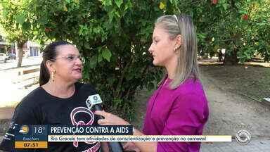 Rio Grande tem atividades de conscientização e prevenção a Aids no Carnaval - Atividades estarão junto de blocos de rua.