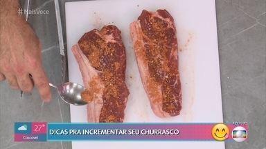 Tempero Seco para Churrasco - Fred Paim dá uma dica interessante para incrementar o seu churrasco