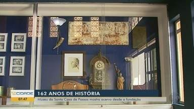 Museu da Santa Casa de Passos mostra acervo desde a fundação - São 162 anos de história contados no local