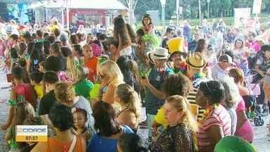 Último dia de carnaval tem muita festa no Sul de MG - Foliões aproveitaram atrações na região