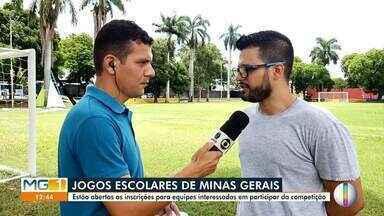 Confira os destaques do esporte dessa quinta-feira (27) - Estão abertas as inscrições para equipes interessadas em participar dos jogos escolares em Minas Gerais.