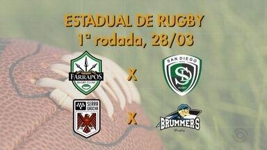 Farrapos e Serra Gaúcha conhecem a tabela do Estadual de Rugby - Campeonato começa no dia 28/03.